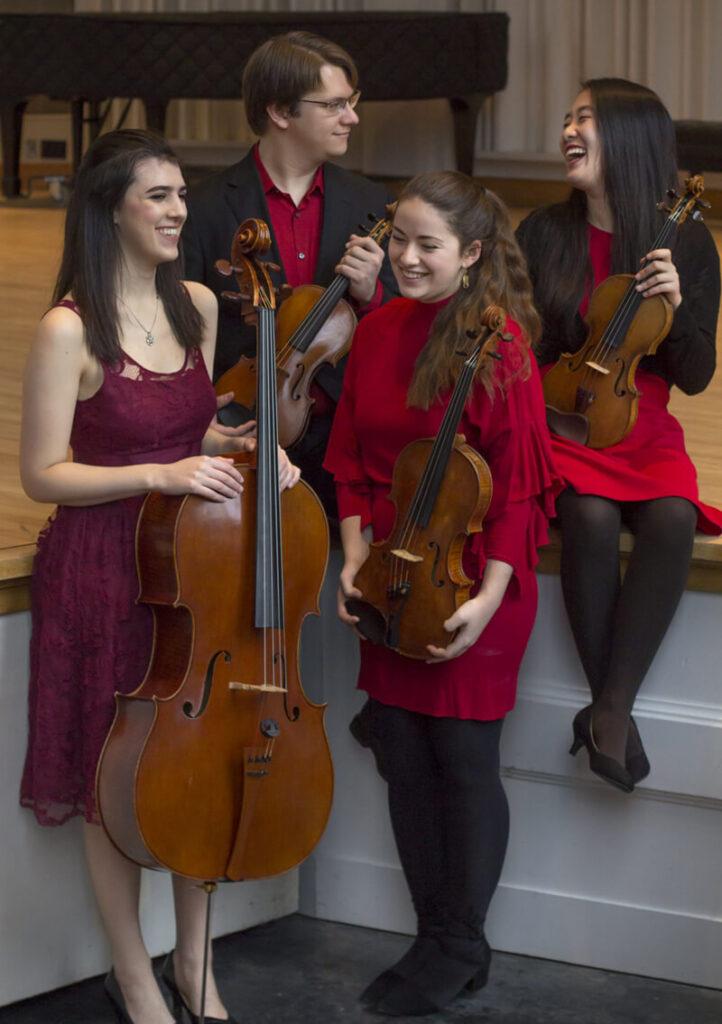 Hudson String Quartet booking info