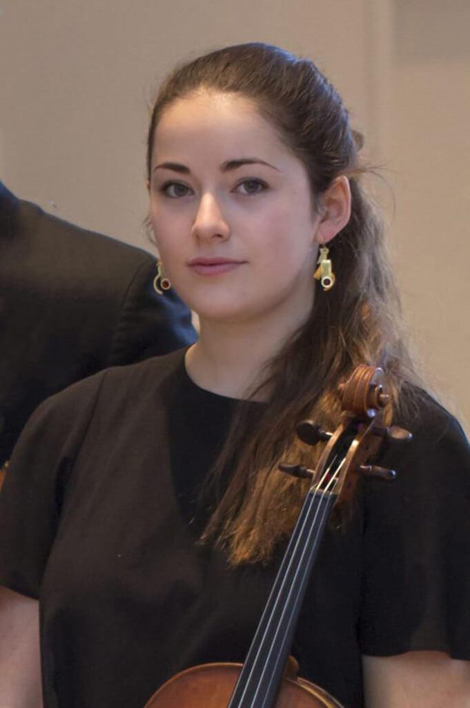 Mercer Greenwald viola Hudson String Quartet